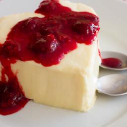 Valentine's Day Coeur à la Crème With Raspberries Recipe