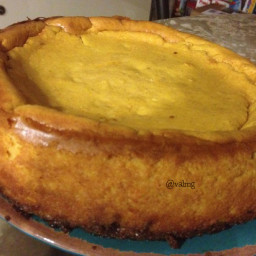 valmg's Homemade Pumpkin Cheesecake Recipe