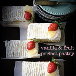 Vanilla and Fruit Perfect Pastry - Detailed recipe