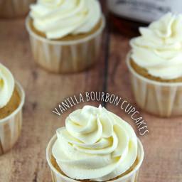 Vanilla Bourbon Cupcakes