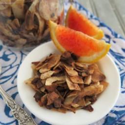Vanilla - Cinnamon Toasted Coconut Flakes [ Paleo - AIP - Sugar Free ]
