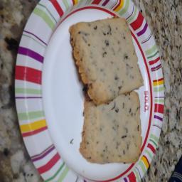Vanilla Comoro Shortbread Cookies