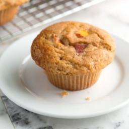 Vanilla Peach Muffins Recipe