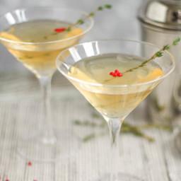 Vanilla, Pepper and Thyme Martini