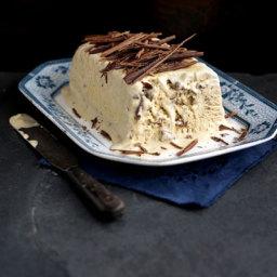 Vanilla Toblerone Semi Freddo