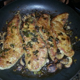 Veal with Mushrooms and Marsala