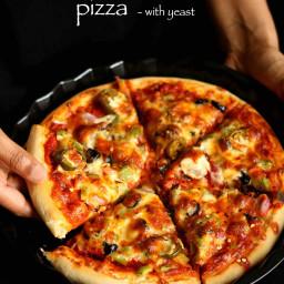 veg pizza recipe   veggie pizza recipe   vegetable pizza recipe