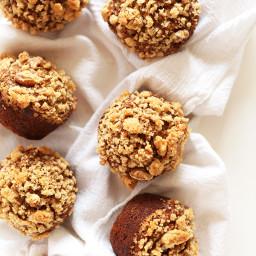 Vegan Banana Crumb Muffins