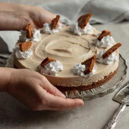 Vegan Biscoff Cheesecake by Juliet Sear