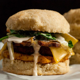 Vegan Biscuit Breakfast Sandwich