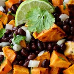 Vegan Black Bean and Sweet Potato Salad Recipe