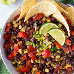 Vegan Black Bean Ceviche
