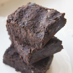 Vegan Black Bean Fudge Brownies