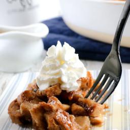 Vegan Bread Pudding with Rum Sauce (gluten-free, nut-free) · Allergy