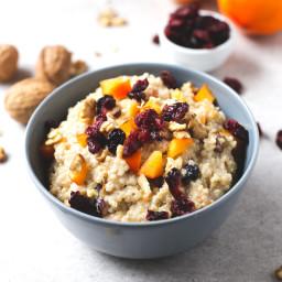 Vegan Breakfast Quinoa Bowl