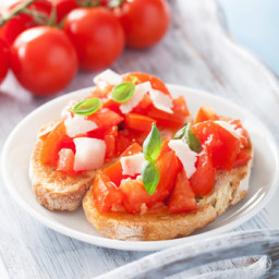 Vegan Bruschetta with Garlic