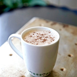 Vegan Caffeine-Free Pumpkin Spice Latte