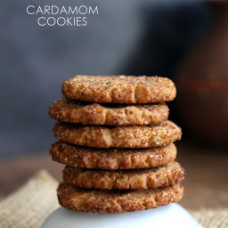 Vegan Cardamom Cookie - Cardamom Snickerdoodles