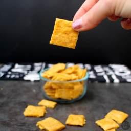 Vegan Cheesy Crackers from Veganize It