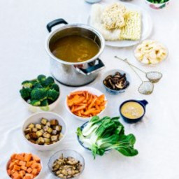 Vegan Chinese Hot Pot