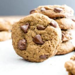Vegan Chocolate Chip Cookies Recipe (Gluten-Free, Dairy-Free, Refined Sugar