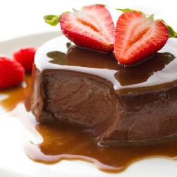 Vegan Chocolate Creme Caramel