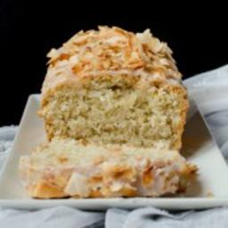 {Vegan Coconut Loaf Cake}