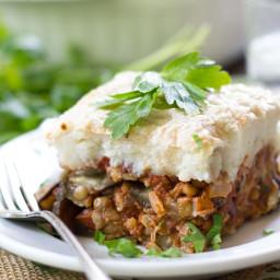 Vegan Eggplant Moussaka