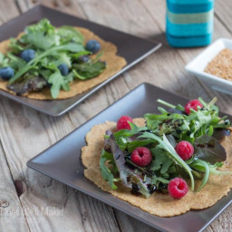 Vegan Flaxseed Paleo Tortillas