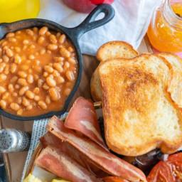 Vegan Full English Breakfast