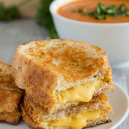 Vegan Grilled Cheese Sandwiches