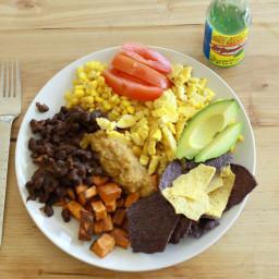 Vegan Huevos Rancheros