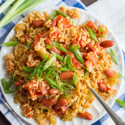 Vegan Jambalaya (Slow Cooker or Stove Top!)