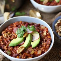 Vegan Keto Walnut Chili