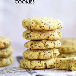 Vegan Lemon Cookies with Chia Cookies