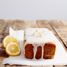 Vegan Lemon Pound Cake
