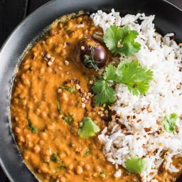 Vegan Lentil Coconut Curry