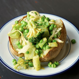 Vegan Loaded Baked Potato