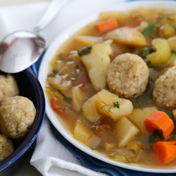Vegan Matzo Balls (with a Gluten-Free Variation)