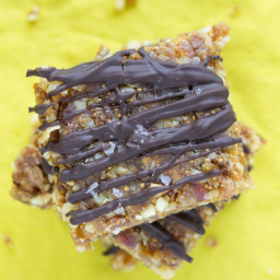 Vegan No-Bake Fig Walnut Bars