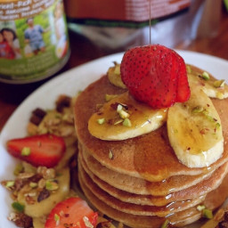 Vegan Oat Pancakes Recipe