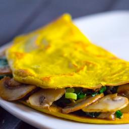Vegan Omelette with Silken Tofu Recipe