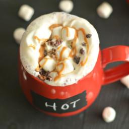 Vegan Peanut Butter Hot Chocolate