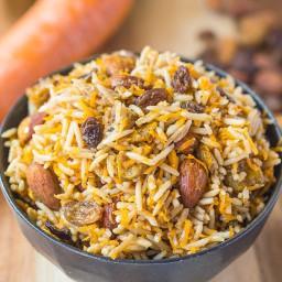 Vegan Persian Rice Salad