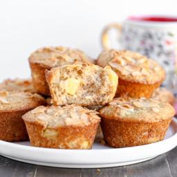 Vegan Pineapple Coconut Muffins
