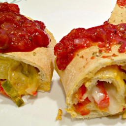 Vegan Pizza Strombolis