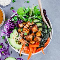 Vegan Poke Bowl (gluten-free) – Emilie Eats