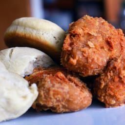 Vegan Popeyes Fried Chicken