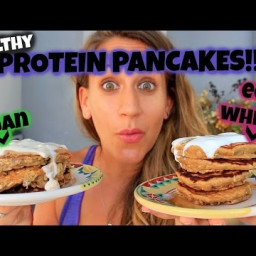 VEGAN Protein Pancakes!!