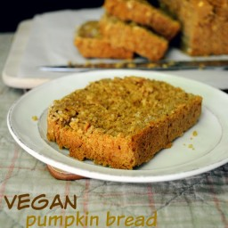 Vegan Pumpkin Bread in the Blender